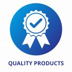 QUALITY PRODUCTS Blue